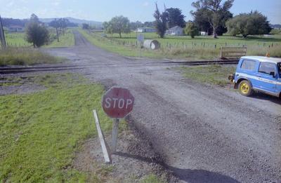 Rail Crossing Fatality Site, Otane