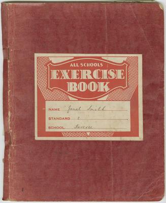 Exercise Book, Janet Smith, Kereru School