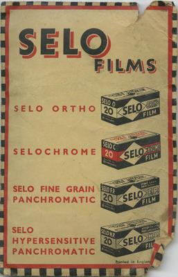 Photograph prints in Selo envelope