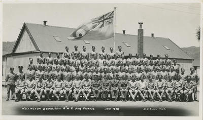 Wellington Squadron RNZ Air Force