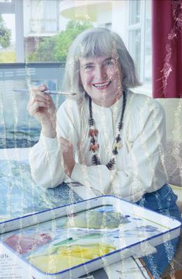 Artist Ethel Luft