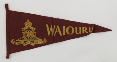 Pennant, RNZ Artillery, Waiouru