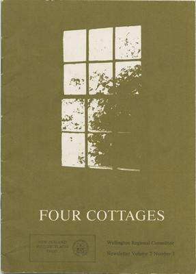 Newsletter, Four Cottages