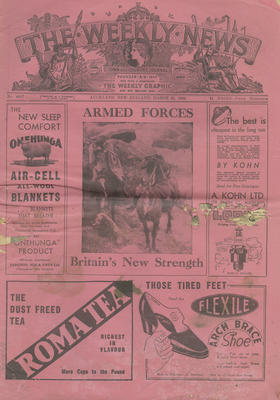 The Weekly News, March 25, 1942