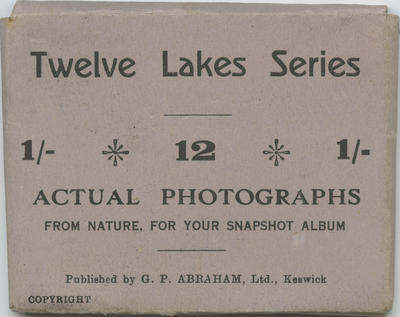 Souvenir Photographs, Twelve Lakes