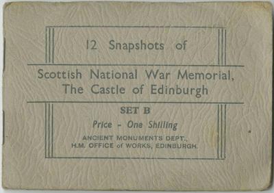 Souvenir Photographs, Scottish National War Memorial