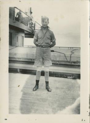 WW2 serviceman