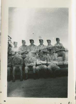 RNZAF group including Percy Hamlin
