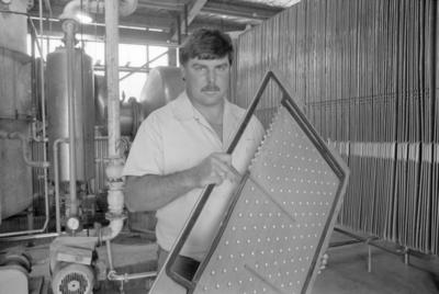 Hawke's Bay Fruit Processors Production Manager, Mark Jenkinson
