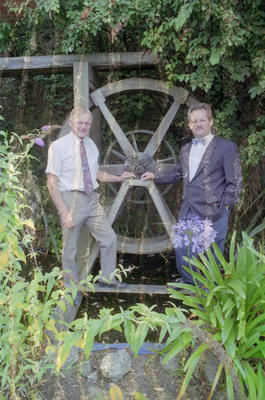 Dave Prebensen and Roger Smith, Faraday Centre, Napier