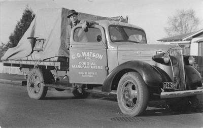 C G Watson company vehicle