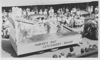 Hawke's Bay Centennial parade, Hawke's Bay Catchment Board float