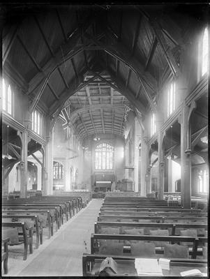Interior, St Matthew's Church, Hastings