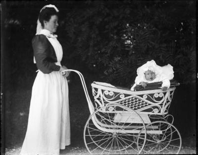 Nursemaid and infant