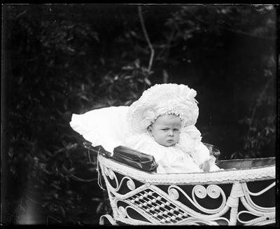 Infant in carriage