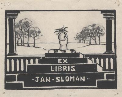 Ex Libris Jan Sloman