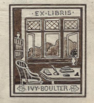 Ex Libris Doris Ivy Boulter