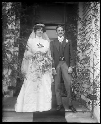 Wedding of Nina Tanner and Dudley Hill