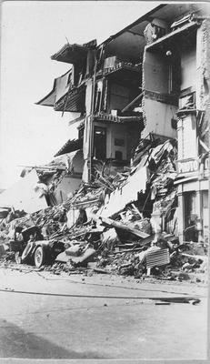 Earthquake damage, Grand Hotel