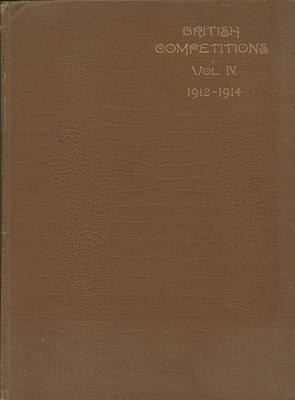 British Competitions Vol IV, 1912-14