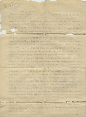 Indenture contract, C T Natusch and Louis Hay