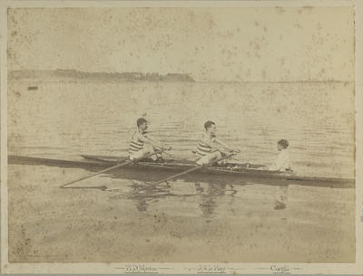 Winners of Maiden and Junior Double Sculls