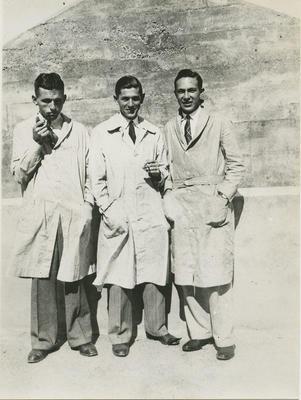 Arthur Milne, Leonard Wolfe, Charles Corne