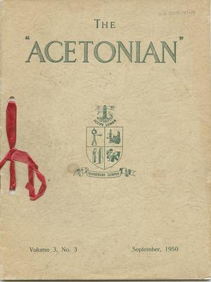 Magazine, The Acetonian