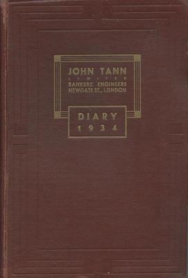 Diary, J A Louis Hay