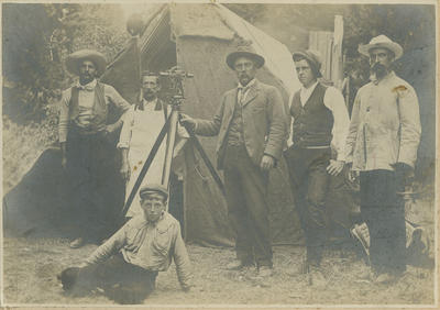 James Hay at survey camp