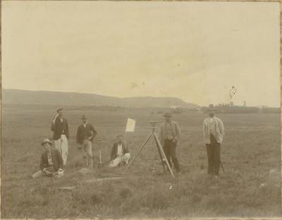 James Hay surveying