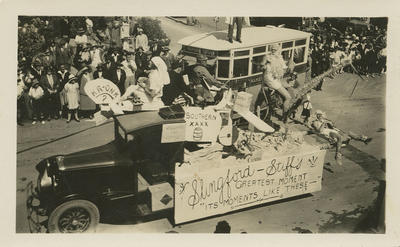 New Napier Carnival parade float