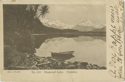 Postcard to Louis Hay, 1905
