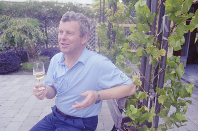 Institute of Masters of Wine chairperson, Kenneth Christie