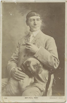 Postcard to Louis Hay from Billy, 1905