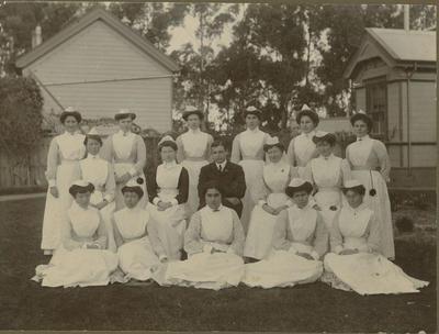Napier Hospital staff