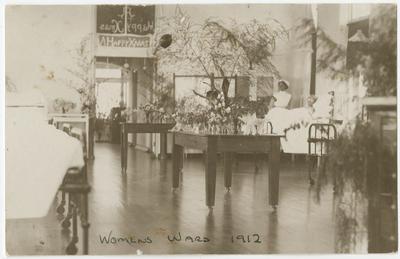 Postcard, Women's Ward, 1912