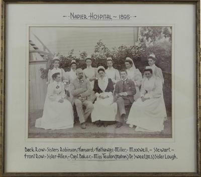 Napier Hospital, 1895