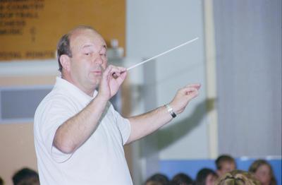 Musical director John Snowling