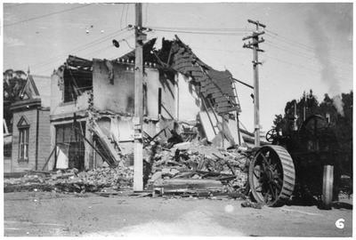 Earthquake damage, Havelock North