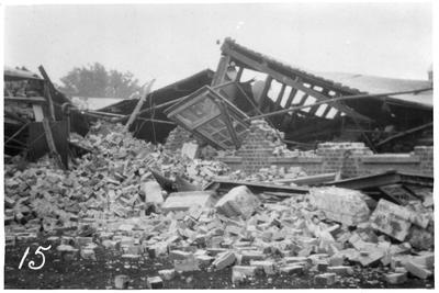 Collapsed building, Hastings