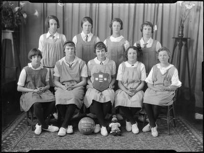 Havelock North basketball team, 1925