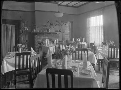Jesmond House dining room, Hastings