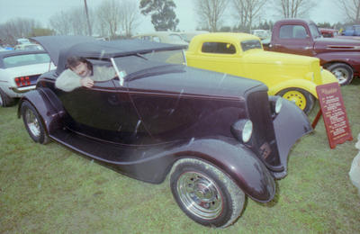Brett Morse and his 34 Roadster, Meeanee Speedway