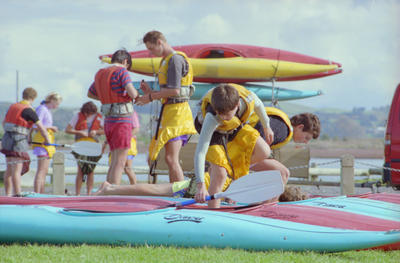 Kayaking, Colenso High School