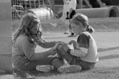 Toni and Bridget Martin, Westshore School