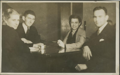 Percy Hamlin and friends