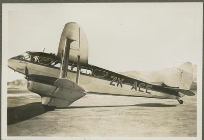 Jupiter ZK-AEE aircraft