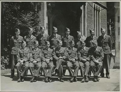 RNZAF group at Canterbury University College