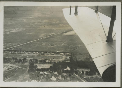 Aerial view of land from RNZAF aircraft
